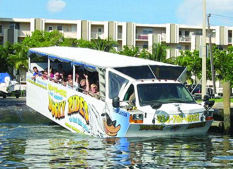 Duck tour in fort lauderdale fl